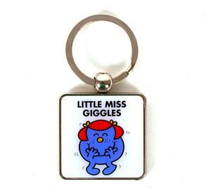Mr Men Keyring - Little Miss Giggles Thumbnail 1