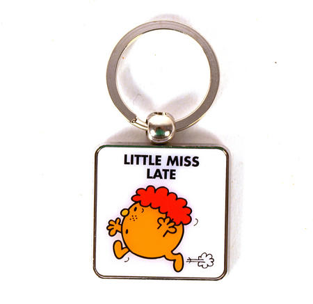 Mr Men Keyring - Little Miss Late