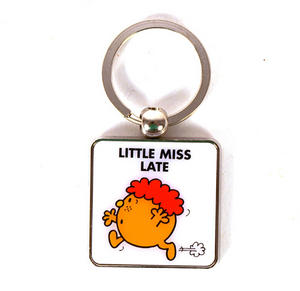 Mr Men Keyring - Little Miss Late Thumbnail 1