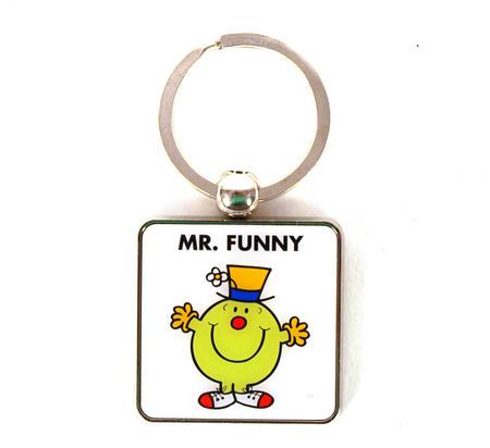 Mr Men Keyring - Mr Funny
