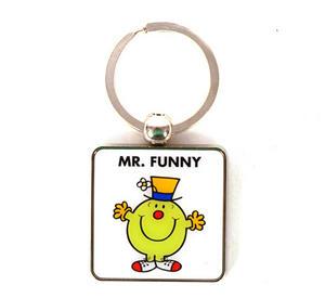 Mr Men Keyring - Mr Funny Thumbnail 1