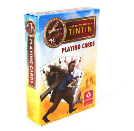 Tintin Playing Cards
