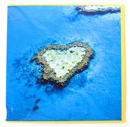 Greetings Card - Heart Reef