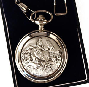 Horse And Hounds Pocket Watch Thumbnail 2