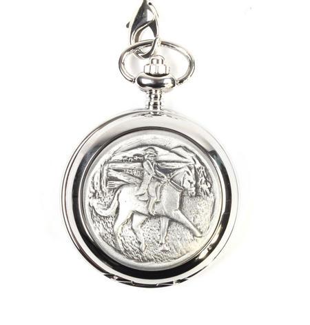 Horse Rider Pocket Watch
