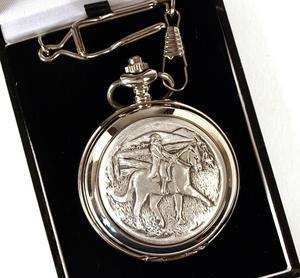 Horse Rider Pocket Watch Thumbnail 1