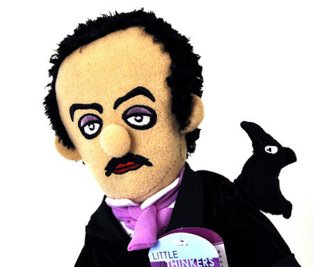 Edgar Allan Poe Soft Toy -  'Little Thinkers' Doll