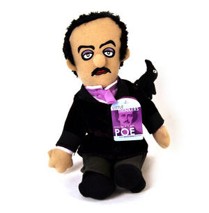 Edgar Allan Poe Soft Toy -  'Little Thinkers' Doll Thumbnail 2