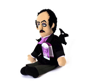 Edgar Allan Poe Soft Toy -  'Little Thinkers' Doll Thumbnail 3