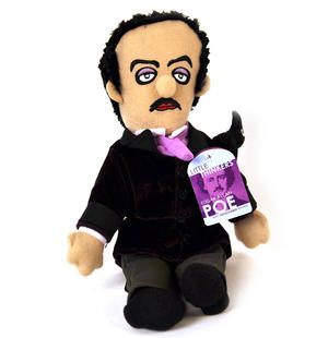 Edgar Allan Poe Soft Toy -  'Little Thinkers' Doll Thumbnail 4