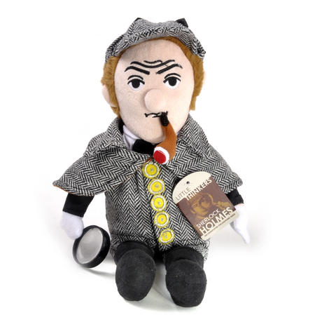 Sherlock Holmes Soft Toy - Little Thinkers Doll