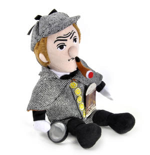 Sherlock Holmes Soft Toy - Little Thinkers Doll Thumbnail 2