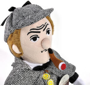 Sherlock Holmes Soft Toy - Little Thinkers Doll Thumbnail 3