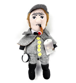 Sherlock Holmes Soft Toy - Little Thinkers Doll Thumbnail 5