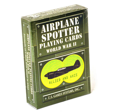 Airplane Spotter Playing Cards - World War 2