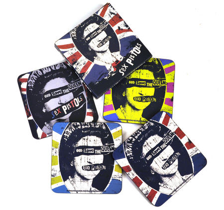Sex Pistols God Save The Queen - Coasters 4 Pack