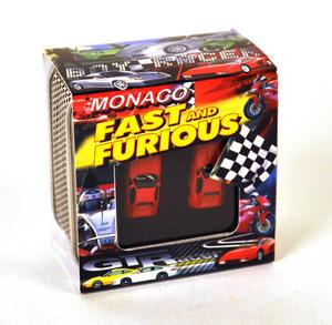 Ferrari Red 3D Cufflinks Thumbnail 3