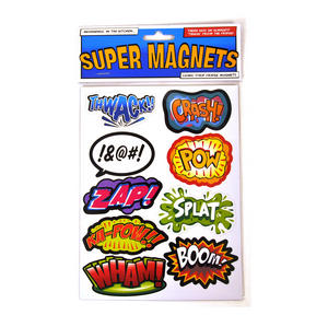 Superhero Supermagnets Fridge Magnet Set Thumbnail 1
