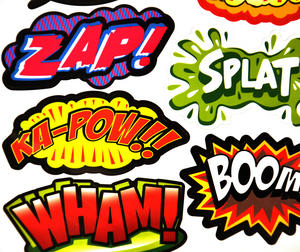 Superhero Supermagnets Fridge Magnet Set Thumbnail 2