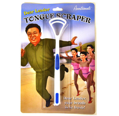 Kim Jong Il Dear Leader Tongue Scraper