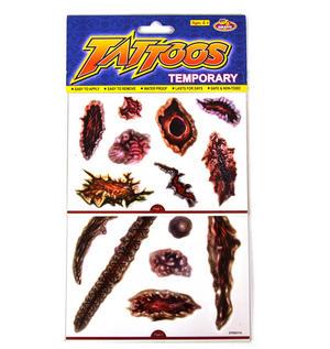 Psychopathic Temporary Tattoos - Random Designs Thumbnail 1