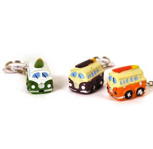 Camper Van Miniature Key Ring - Random Colours