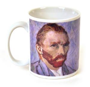 Van Gogh - Heat Change Disappearing Ear Mug Thumbnail 1