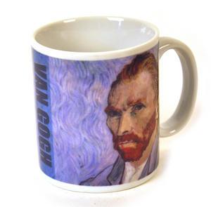 Van Gogh - Heat Change Disappearing Ear Mug Thumbnail 2