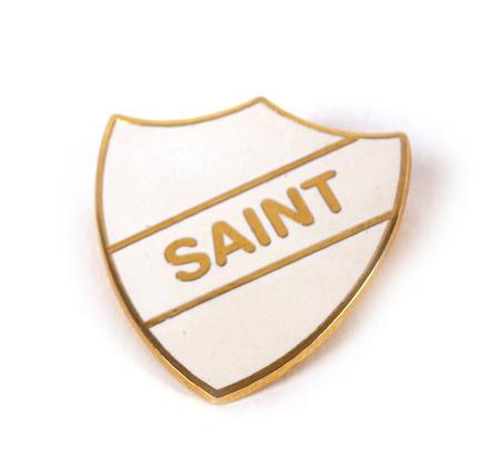 Old School Vintage Badge - Saint