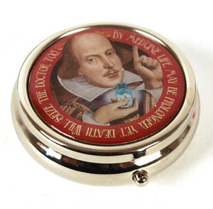 William Shakespeare Pill Box Thumbnail 2
