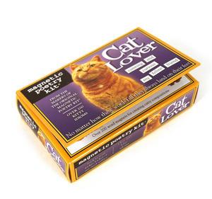 Cat Lover Fridge Magnet Poetry Set - Fridge Poetry Thumbnail 1