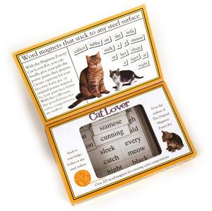 Cat Lover Fridge Magnet Poetry Set - Fridge Poetry Thumbnail 3