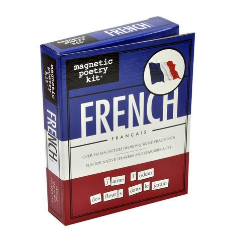 French Fridge Magnet Poetry Set - Fridge Poetry