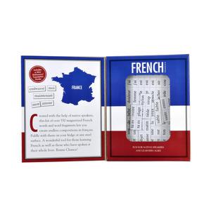 French Fridge Magnet Poetry Set - Fridge Poetry Thumbnail 2