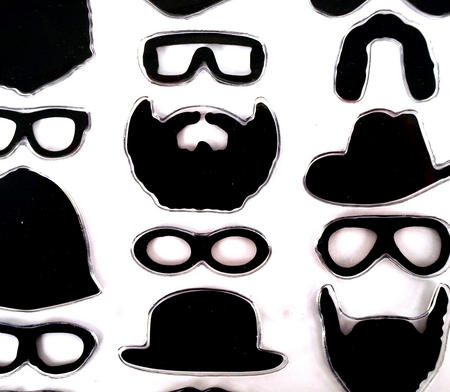 In Disguise - 22 Fridge Magnets To Hold Your Pictures And Put You In Disguise.