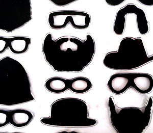 In Disguise - 22 Fridge Magnets To Hold Your Pictures And Put You In Disguise. Thumbnail 1