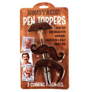Moustache Pen Toppers Thumbnail 1