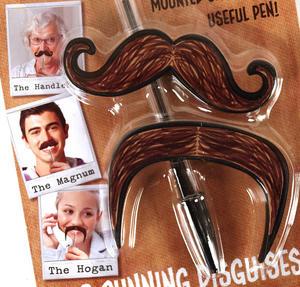 Moustache Pen Toppers Thumbnail 2
