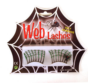 Web Lashes - Cobweb False Eye Lashes Thumbnail 1