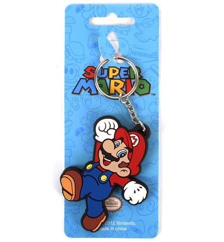 Super Mario Rubber Keyring