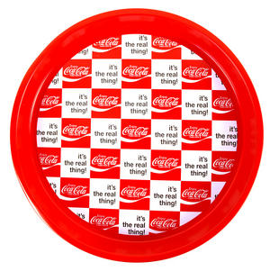 Coca Cola Retro Tray - 'Coke It's The Real Thing' Thumbnail 1