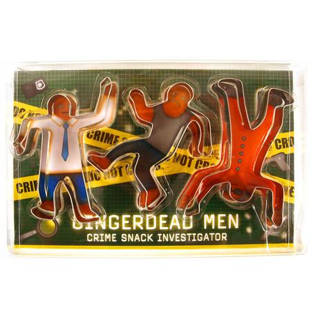 Gingerdead Men Cutter - Crime Snack Investigator