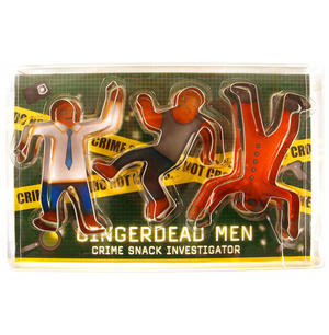 Gingerdead Men Cutter - Crime Snack Investigator Thumbnail 1