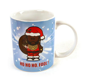 Mr. T Christmas Mug Thumbnail 1