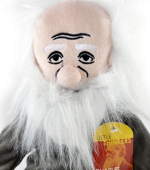 Charles Darwin  Soft Toy - Little Thinkers Doll Thumbnail 1