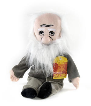Charles Darwin  Soft Toy - Little Thinkers Doll Thumbnail 4