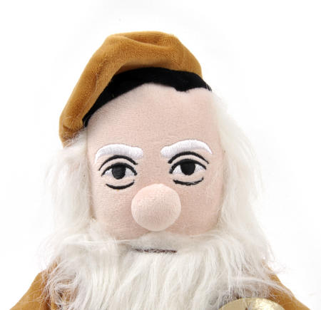 Leonardo Da Vinci Soft Toy - Little Thinkers Doll