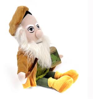 Leonardo Da Vinci Soft Toy - Little Thinkers Doll Thumbnail 2