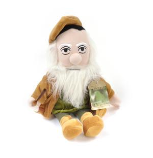 Leonardo Da Vinci Soft Toy - Little Thinkers Doll Thumbnail 4