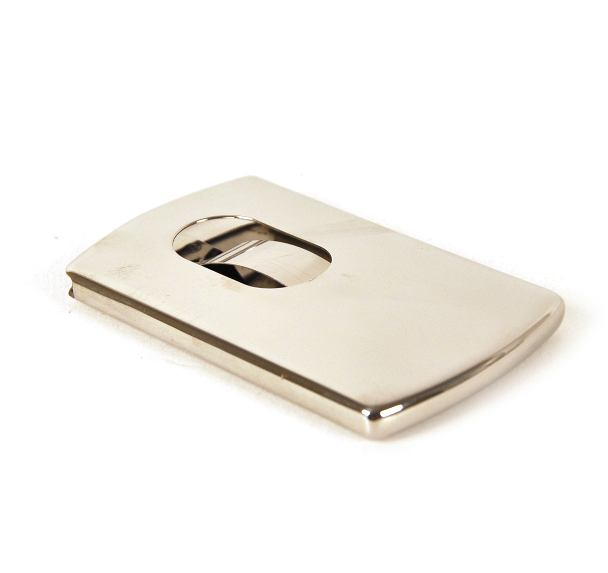 Spring Loaded Stainless Steel Business Card Case | Pink Cat Shop